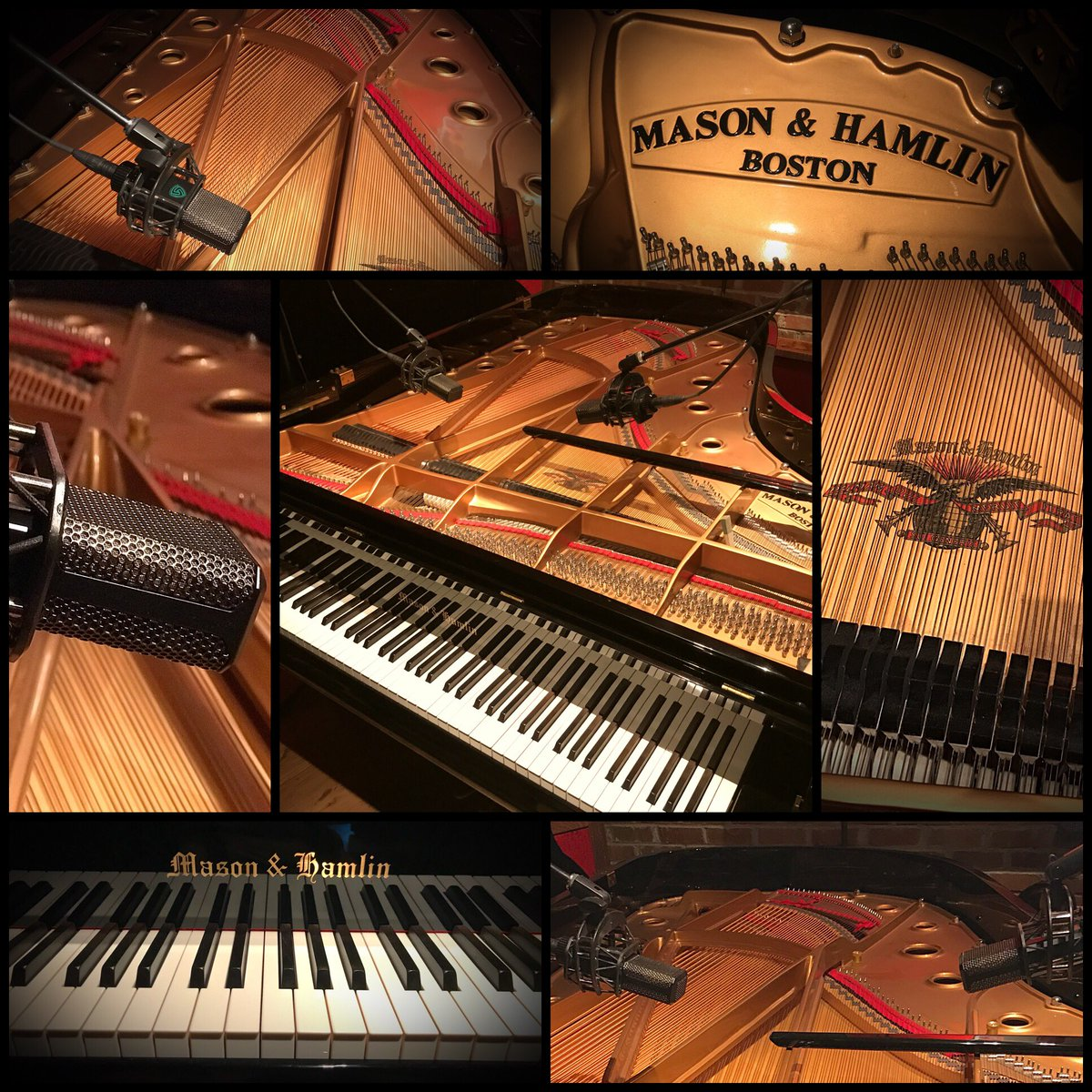 Brian Culbertson On Twitter Last Day Of Piano Tracking Colors Love I So Playing This Masonhamlin Model BB 7 Grand Its Amazing