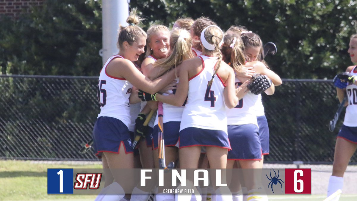Richmond Field Hockey On Twitter Sweet Senior Day Victory Spiders