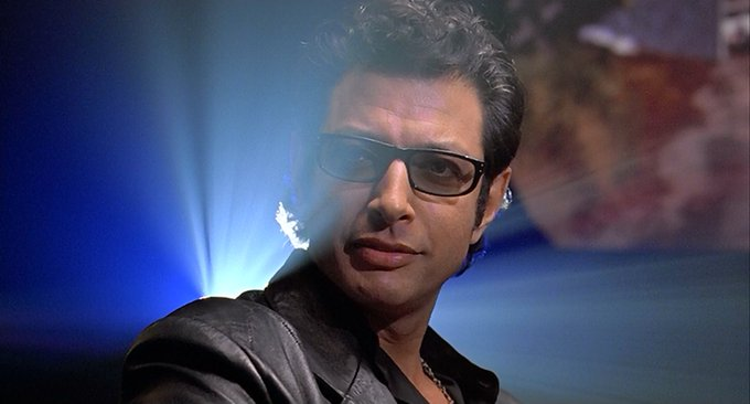 Happy 65th birthday to Jeff Goldblum