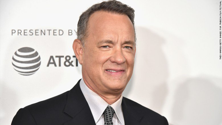 'If you're concerned about what's going on today, read history,' Tom Hanks says https://t.co/PkFeMYzUh1