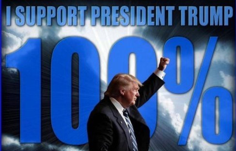 RETWEET if you still SUPPORT @realDonaldTrump 100%! He&#39;s under attack from Democrats, GOP and the Media yet he fights on! #MAGA #tcot #SundayMorning<br>http://pic.twitter.com/afuYYkTqBD