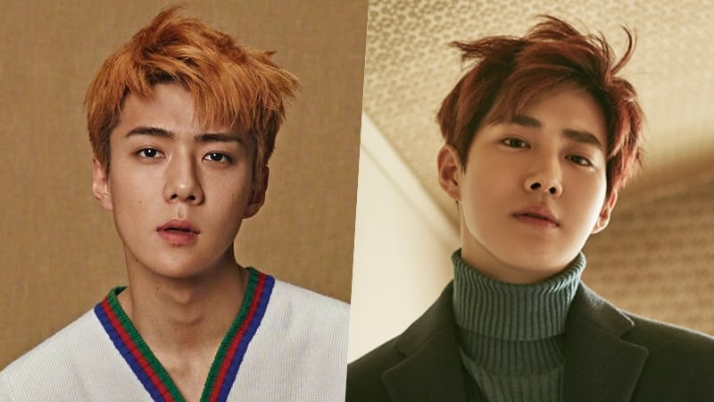 """#EXO's Sehun And Suho To Appear On """"Hello Counselor"""" https://t.co/H5yx..."""