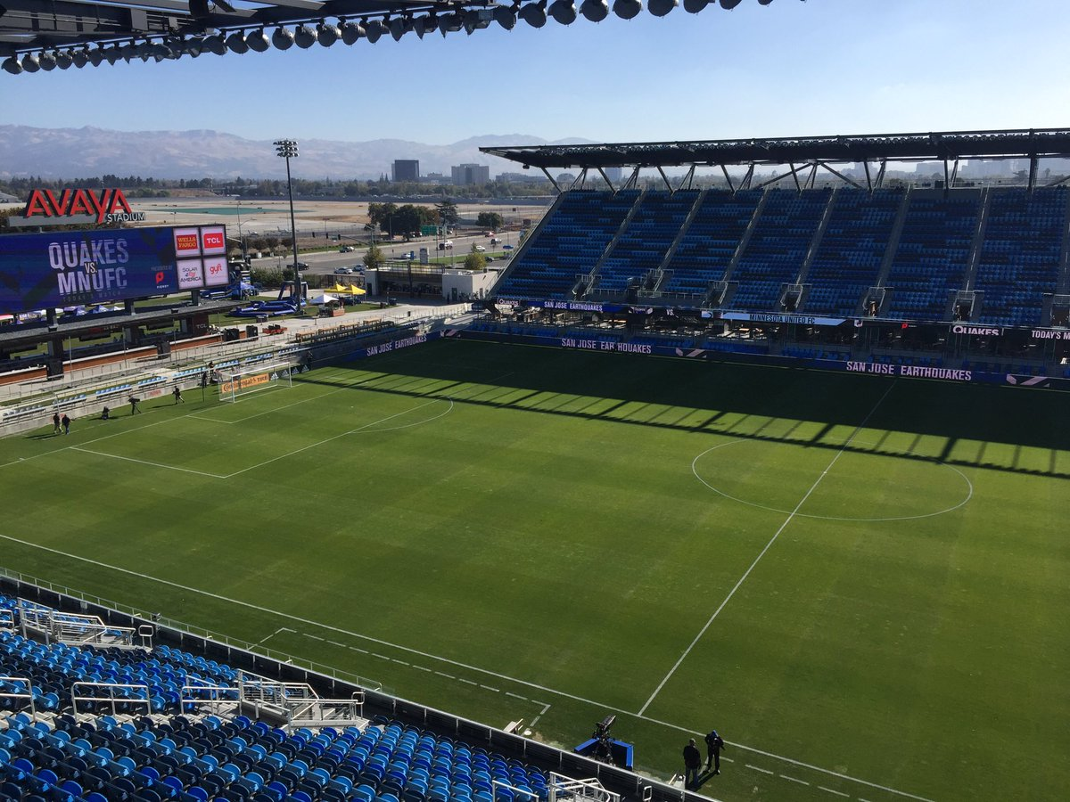 Beautiful day here at @AvayaStadium - decisive, even  #DecisionDay #mls #fifa #futbol #Quakes74 #ForwardAsOne<br>http://pic.twitter.com/8osnupmczW