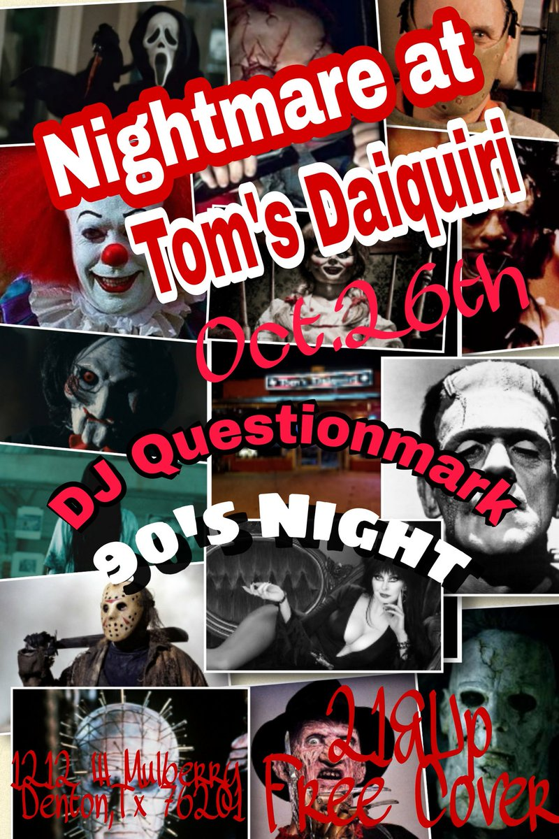 This Thursday @tomsdenton  @DJQuestionMark1 in the Mixx  FreeCover 21&amp;Up #Denton #UNT #TWU #dentondj #fryst #Denton2night  #Dentonnightlife<br>http://pic.twitter.com/P7nX1vEjEM