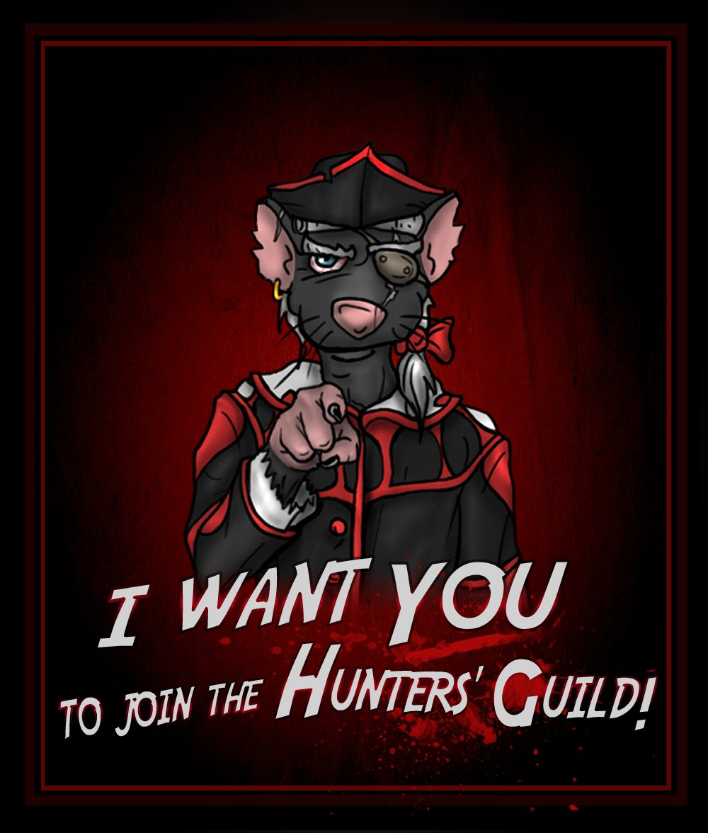 Join the Hunters&#39; Guild, the war is not over yet! #indiegame #indiedev #madewithunity #indiegamedev #gamedev #developer #gdwc #pc #Steam #gamenews #gamenewz #angrycatstudios #videogames #games #gaming #gamer #unity #cool #fun #upcoming #video #ComingSoon #platformer #puzzle<br>http://pic.twitter.com/4gFbOEfnVj