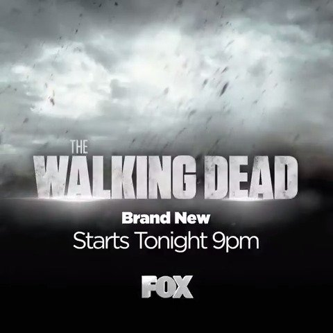 It's here. Witness the epic return of #TheWalkingDeadUK tonight at 9pm...