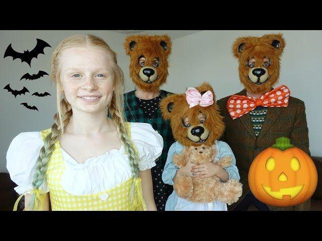 FAMiLY HALLOWEEN DRESS UP: GOLDiLOCKS &amp; 3 BEARS  -  https://www. youtube.com/watch?v=wgKaQ- ntZVk &nbsp; …  #family #fun <br>http://pic.twitter.com/wu1OiNy7PD