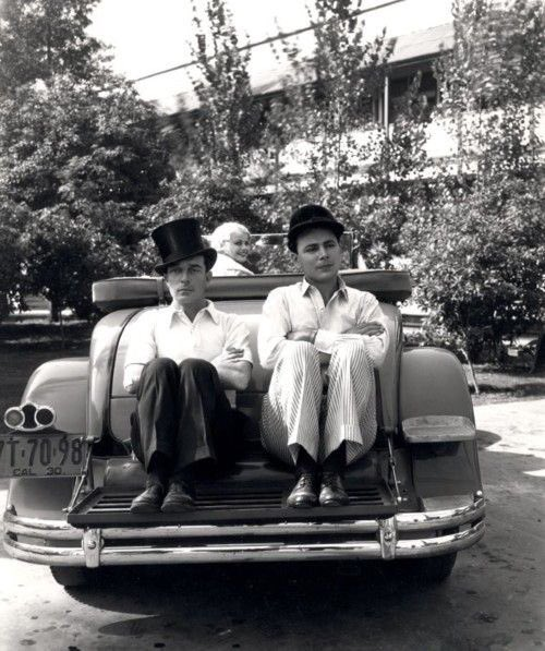 The Busters, Keaton and Collier Jr, out for a Sunday drive. #BusterKeaton #BusterLove#hollywood #friends <br>http://pic.twitter.com/LteqQLAaJa
