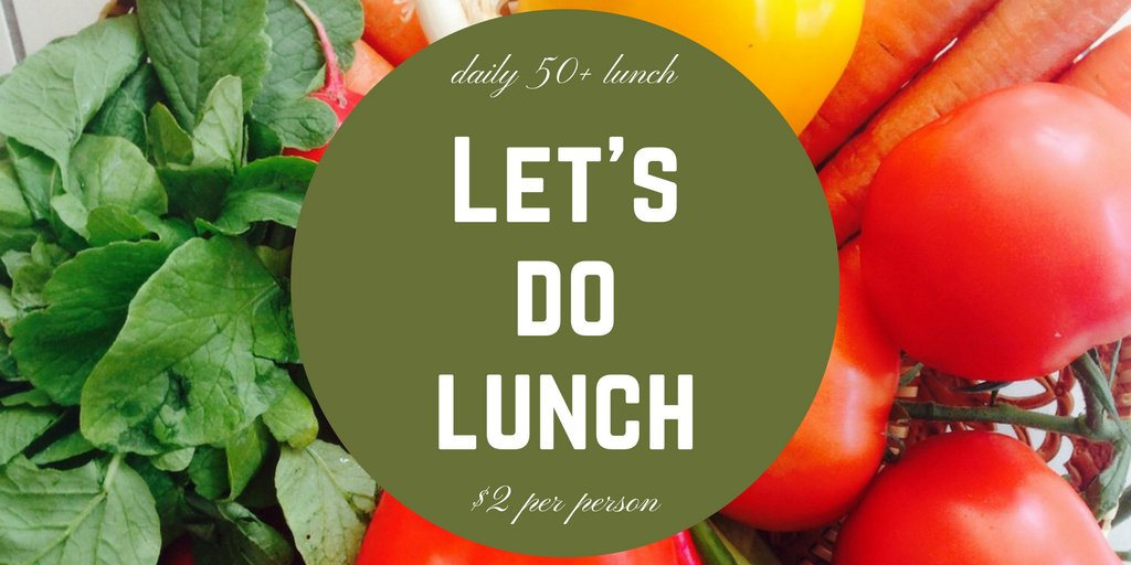 Feeling hungry? Join us for lunch M-F at 11:30am at the Arcadia Community Center for only $2! #recreation #senior #lunch #deal<br>http://pic.twitter.com/wykWxDU1Wd