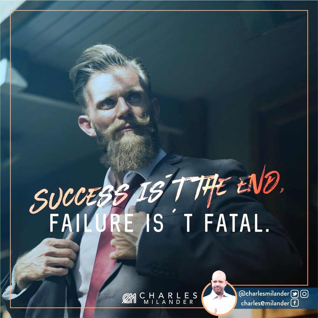 Success is´t the end, failure is´t fatal. #dreams #hustle #grind #lifestyle #success #instaquote #money #newyork #work #startup #hardwork<br>http://pic.twitter.com/389j5mGD14