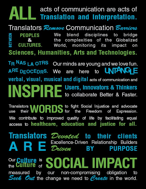 #ata58 #Socialimpact of #translation Manifesto. How LPs contribute to the agenda for #SmartCity ? We know how to #collaborate !<br>http://pic.twitter.com/cvLBWMtRMB