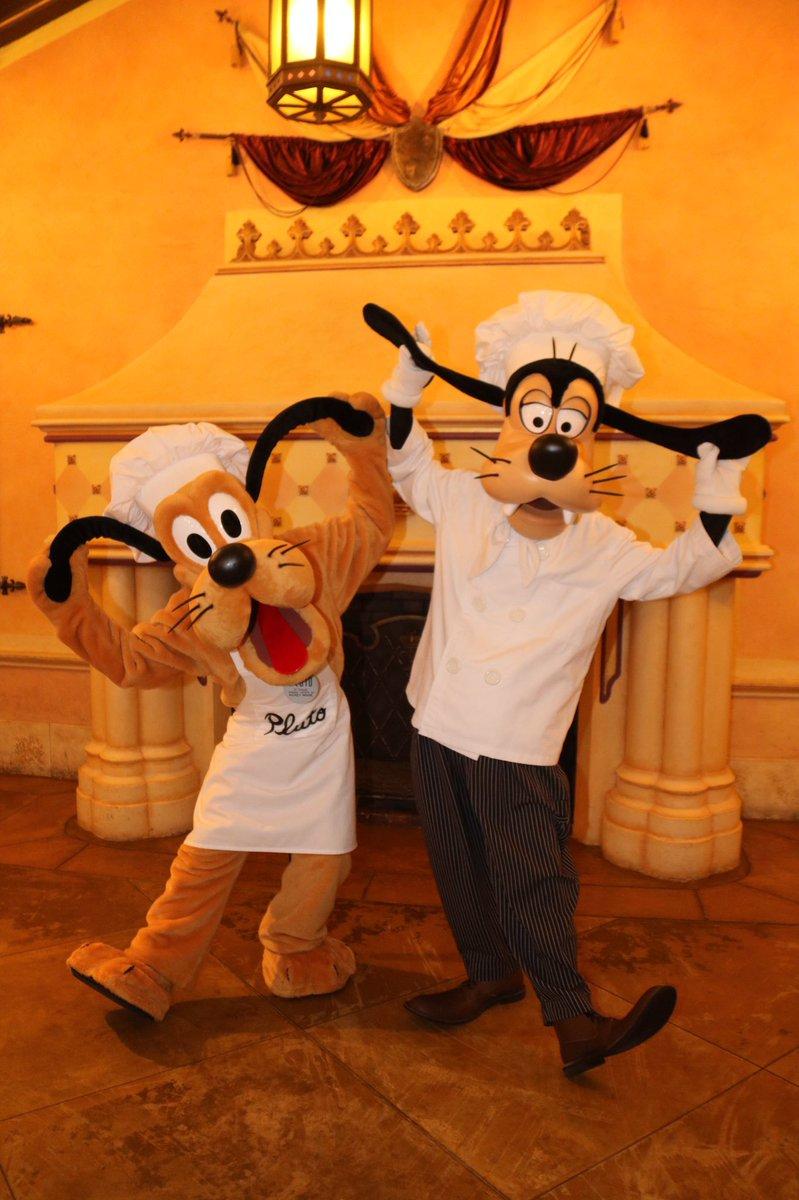 #ChefGoofy and #ChefPluto ate more than they cooked at #HongKongDisneyland! #HKDL #Fantasyland #Goofy #Pluto #DisneyChef #DisneyDogs #Disney <br>http://pic.twitter.com/CxbjAE0yQh
