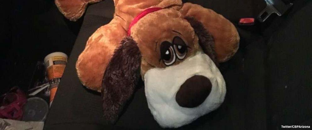 Border Patrol K-9 sniffs out meth hidden in stuffed toy dog https://t.co/WVj0wupWh7