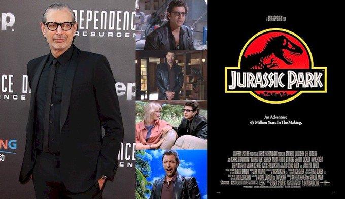 Hoy cumple 65 años Jeff Goldblum (Ian Malcolm en Happy Birthday