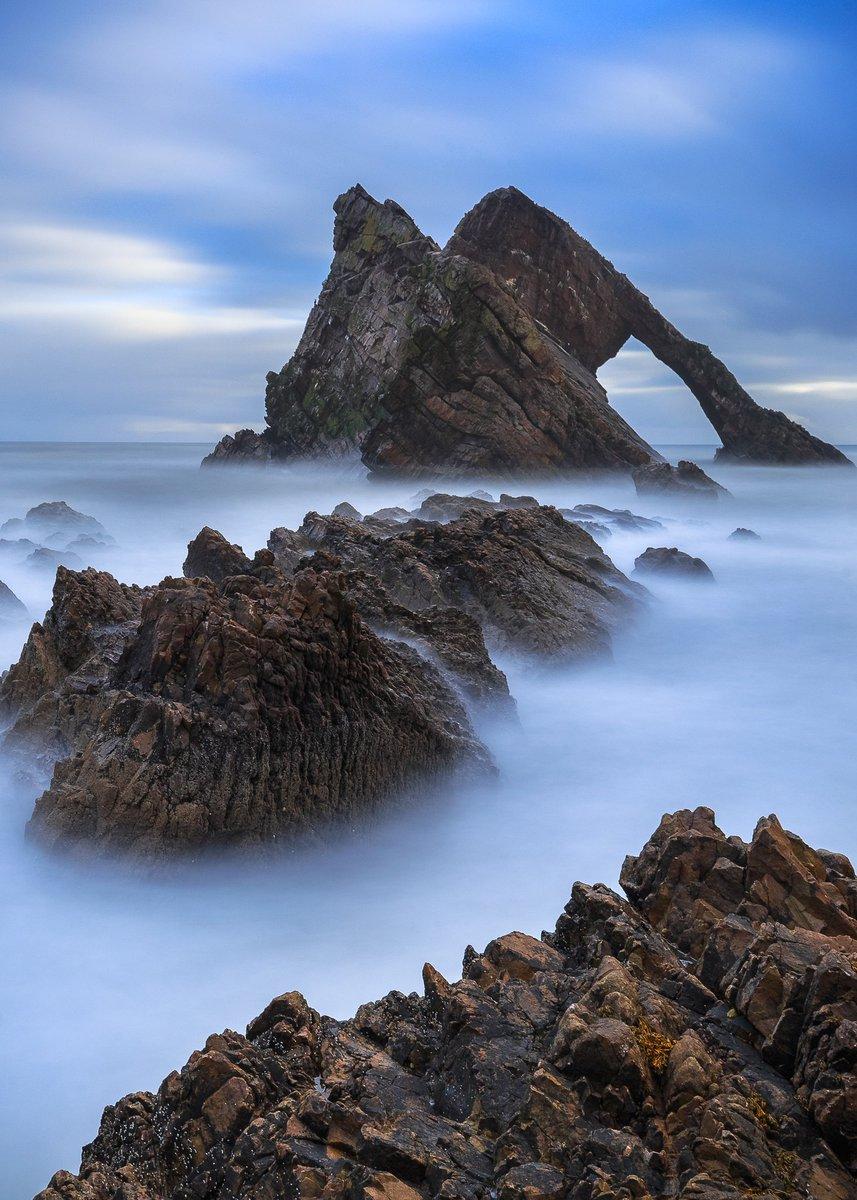 Bow Fiddle Rock  Portknockie, Moray.  #Moray #Scotland #seascape #Longexposure<br>http://pic.twitter.com/gdL8aBZno8