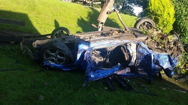 Driver loses control of his car, crashes into two gardens then tells police he's been attacked https://t.co/2KVPbO1bp9