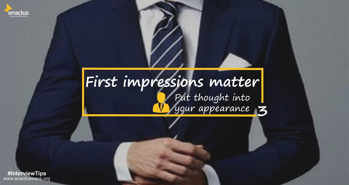 Remember to show confidence. Head high, stand straight and tall, hold a slight smile, and relax.  #enactus #enactusmans #InterviewTips<br>http://pic.twitter.com/zg90Fjwupy