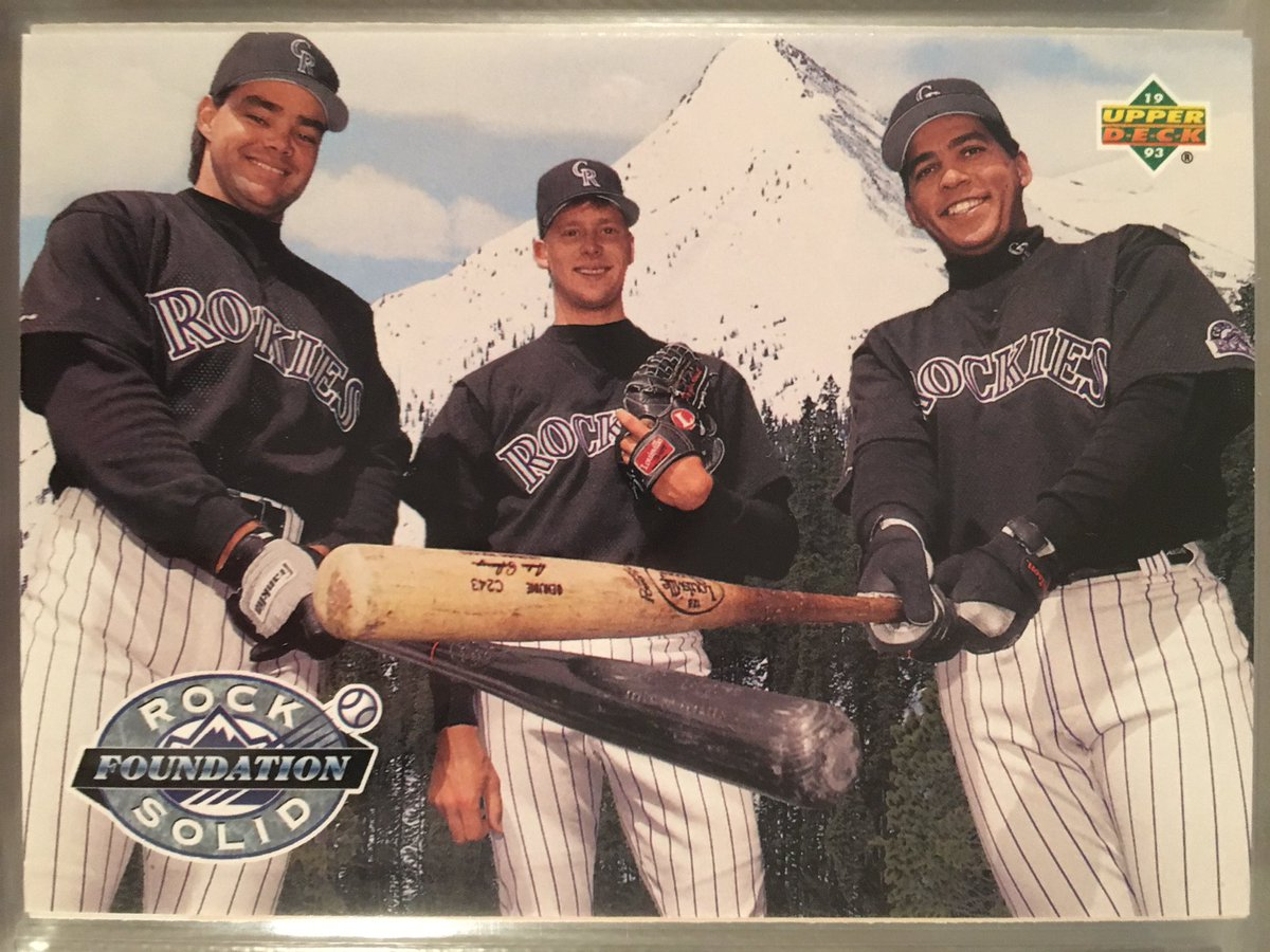 There&#39;s a reason 95% of you can name the 2 hitters but not the pitcher. Welcome to #Rockies baseball where the city &amp; ERAs are a mile high! <br>http://pic.twitter.com/qJe0M8gNDu