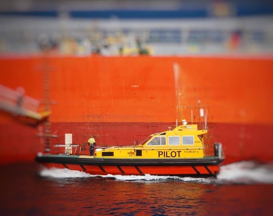 Pilot ready for action.. #lifeatsea #marineinsight #sea #ship #seafarer #maritime #seaman #pilot  Photograph by Fitzy <br>http://pic.twitter.com/BsqTaqEjW5