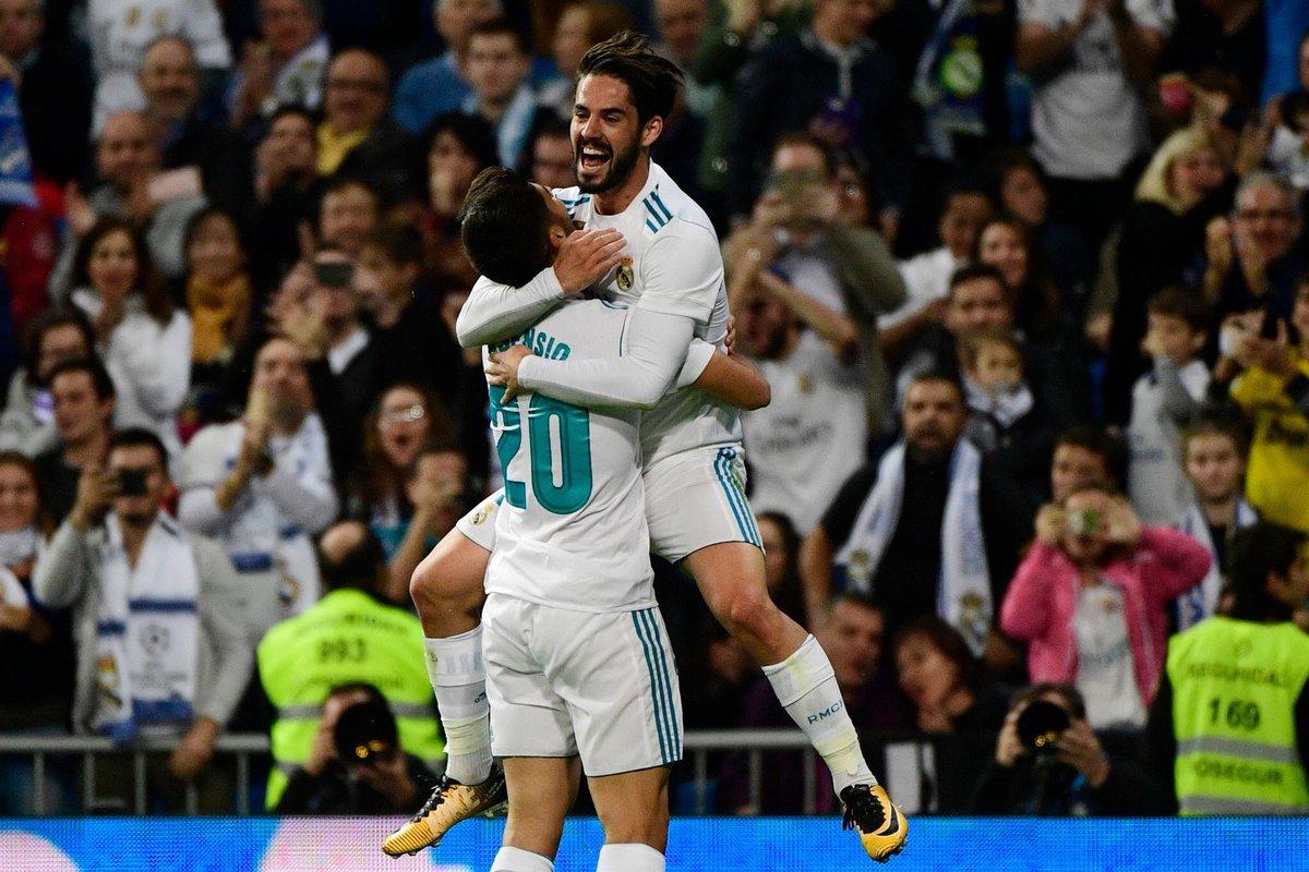 هدف ريال مدريد الثاني في شباك إيبار