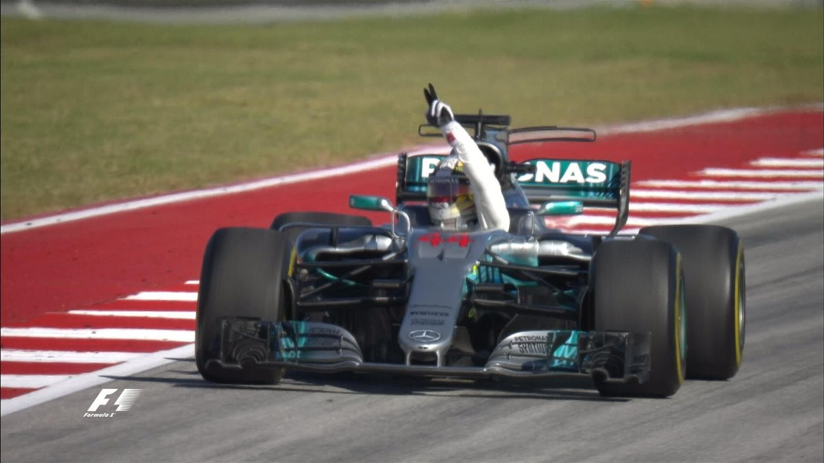 📻HAM [On Mercedes winning the Constructors Championship]: 'Well done,...