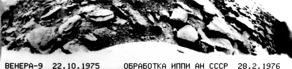 42 years ago #today Venera 9 landed on Venus &amp; returned the first images from the surface of another planet.  http://www. drewexmachina.com/2015/10/22/ven era-9-and-10-to-venus/ &nbsp; … <br>http://pic.twitter.com/fjF1GDiOLw