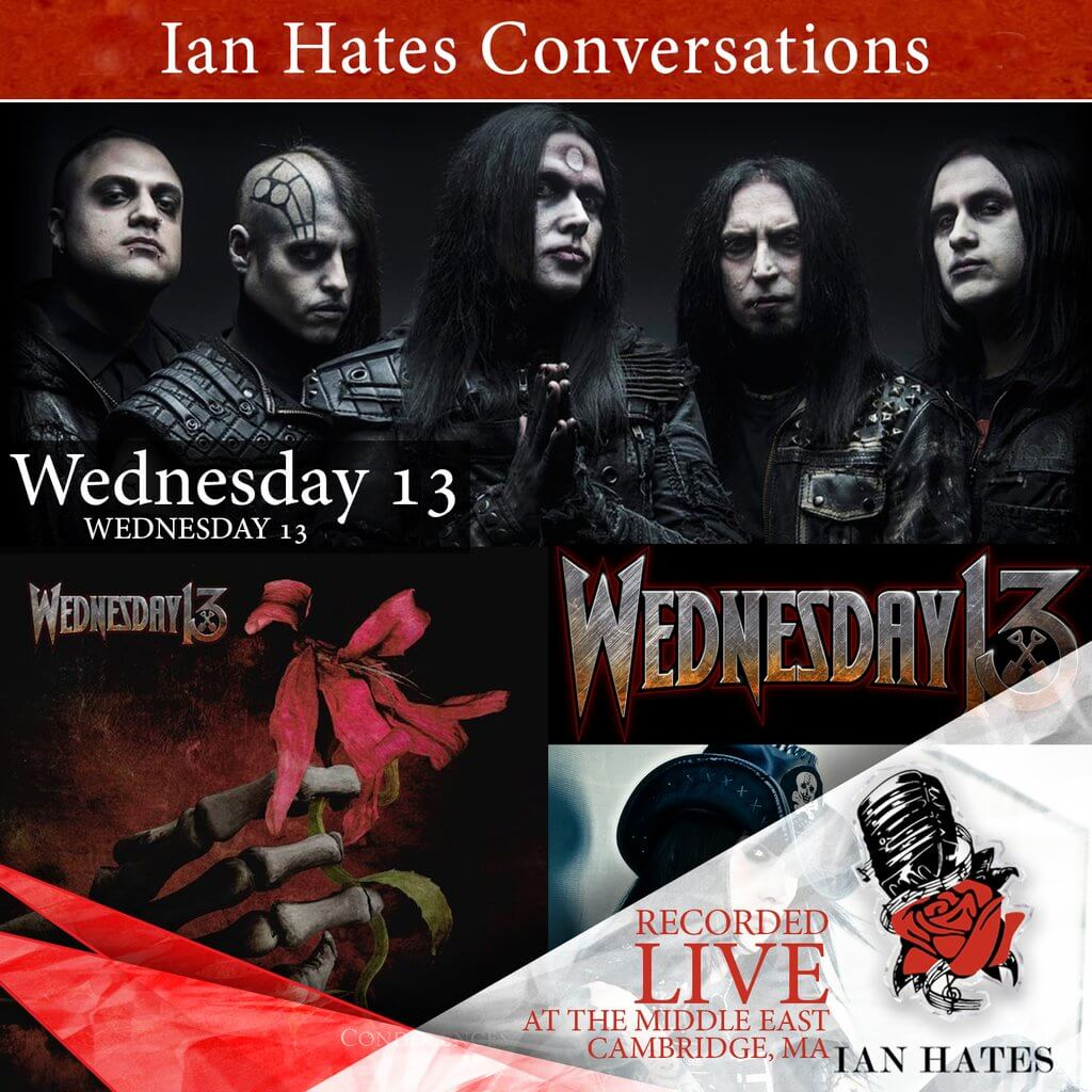 The great @officialwed13 joins Ian #LIVE!  http:// bit.ly/ihmuw13  &nbsp;   #iTunes  #Interview #Podcast #PodernFamily #Condolences @nuclearblastusa<br>http://pic.twitter.com/NUz0W4rIFy