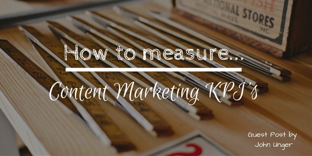 How to Measure Content Marketing KPI's  http:// bluewi.re/1RdxOCm  &nbsp;   #contentmarketing #metrics <br>http://pic.twitter.com/8EgJ8K2jPs