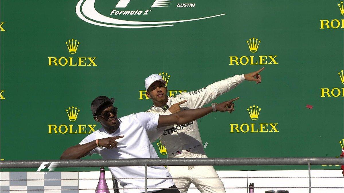 Austin, vince ancora Hamilton: secondo Vettel e c'è anche Usain Bolt... Alla  ... - https://t.co/8ICpZDPfT3 #blogsicilianotizie #todaysport