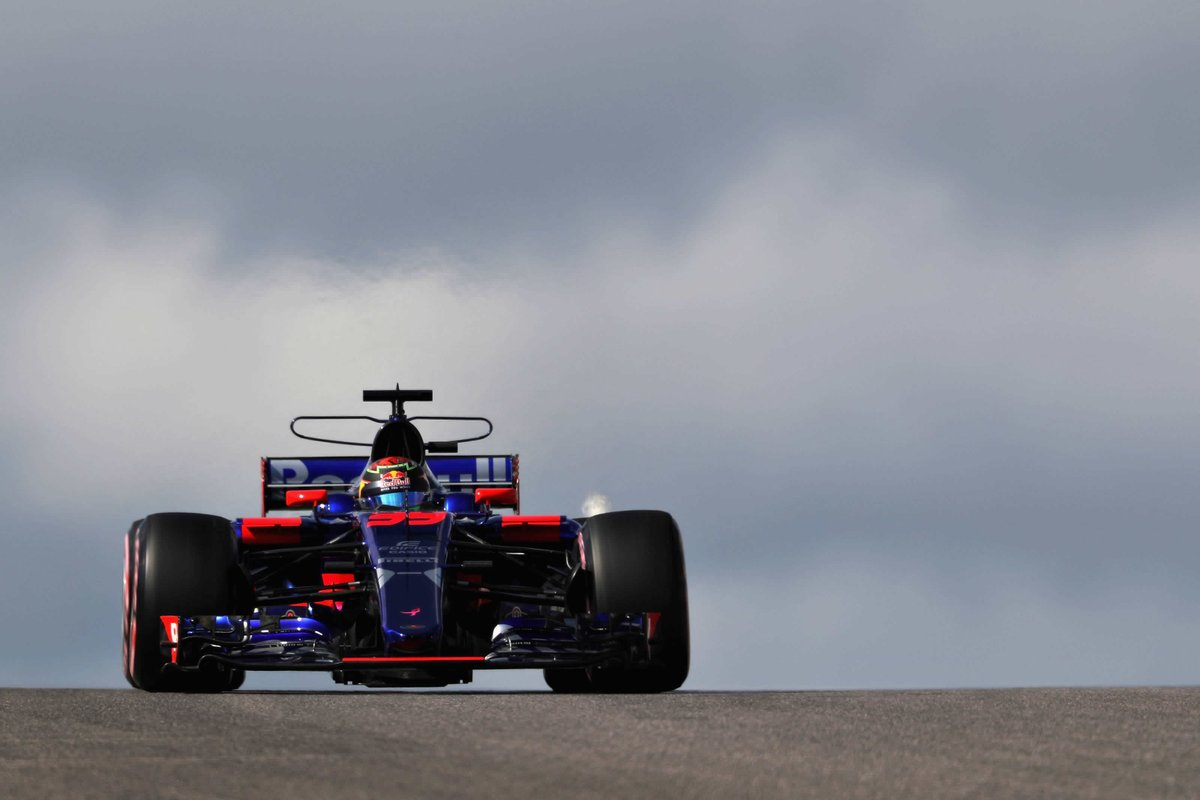 Legend! @BrendonHartley finishes 13th on #USGP #Formula1 debut for @ToroRossoSpy  http:// bit.ly/2yFuqOU  &nbsp;   #F1 #FormulaOne #RedBull <br>http://pic.twitter.com/oUILXXURbz