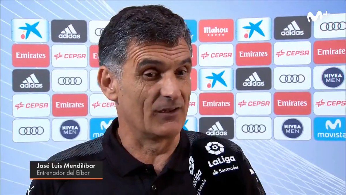 Mendilibar: 'Inui me ha dicho que no es penalti. Que Casemiro no le to...