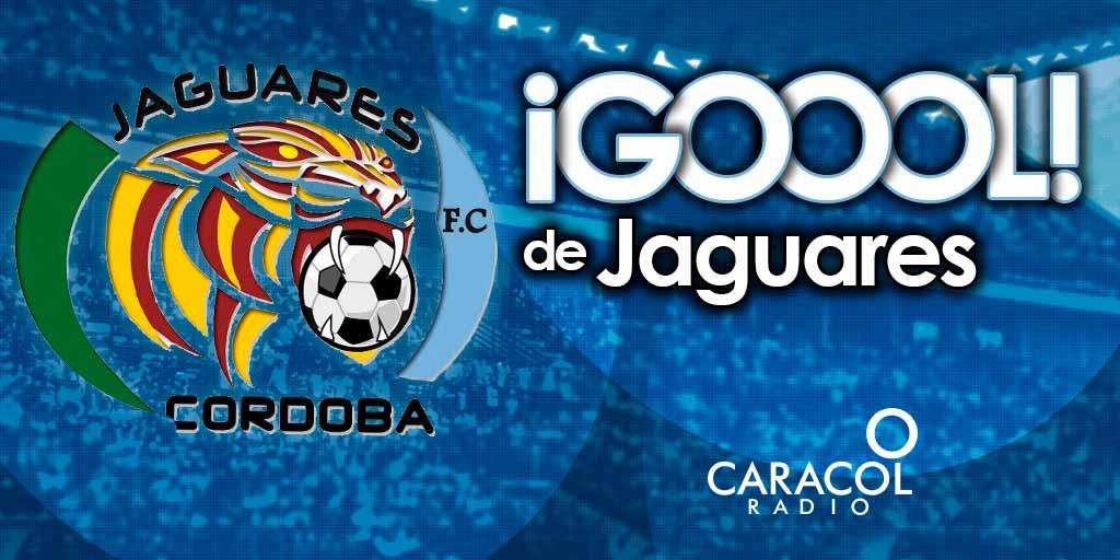 GOL ⏰53 G⚽⚽⚽L de César Carrillo. Jaguares 2-1 Cali, fecha 16 #LigaÁgui...