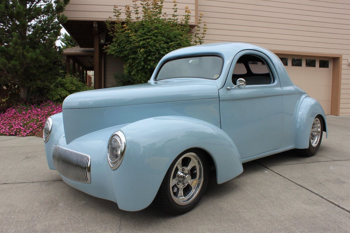 eBay: 1941 Willys Custom 1941 Willys Coupe- Street Rod, Hot Rod, Classic Car  http:// rssdata.net/Px3KKk  &nbsp;   #classiccars #cars <br>http://pic.twitter.com/WZez4w0UiL