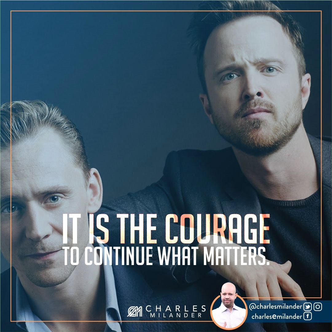 It is the courage to continue what matters. #boss #business #quotes #fashion #entrepreneurship #motivation #inspiration #goals #newyork <br>http://pic.twitter.com/sJxcKTpKJU