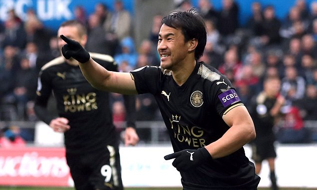 Leicester show bite for their next boss in Swansea win