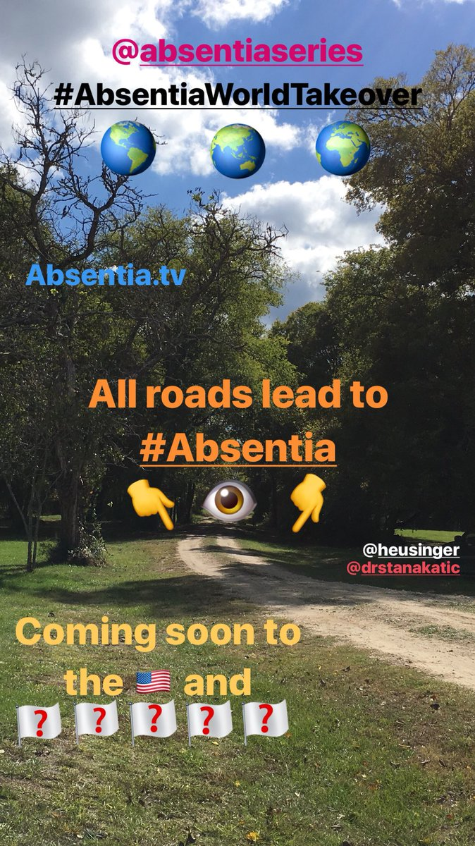 #Absentia Sunday Instagram story #AbsentiaWorldTakeover #AbsentiaIsComing @AbsentiaSeries @Stana_Katic<br>http://pic.twitter.com/TCl3N8tPUd