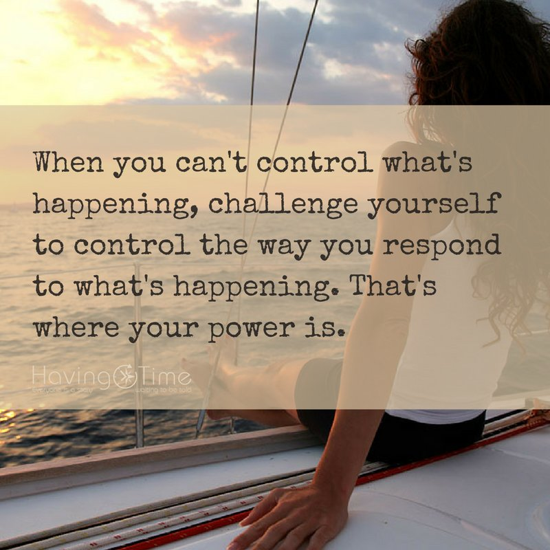 When you can&#39;t #control what&#39;s happening, challenge yourself to control the way you respond to what&#39;s happening. #quote #motivation<br>http://pic.twitter.com/WVttL8oRVt