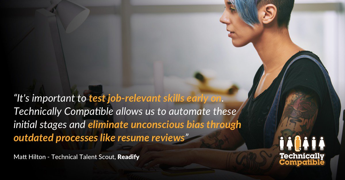 Proud that Aussie trailblazers @readify use @TechCompatible to deliver the #tech talent that will help them grow #ThisIsMINE #HRTech #HR<br>http://pic.twitter.com/XScYWSxFux