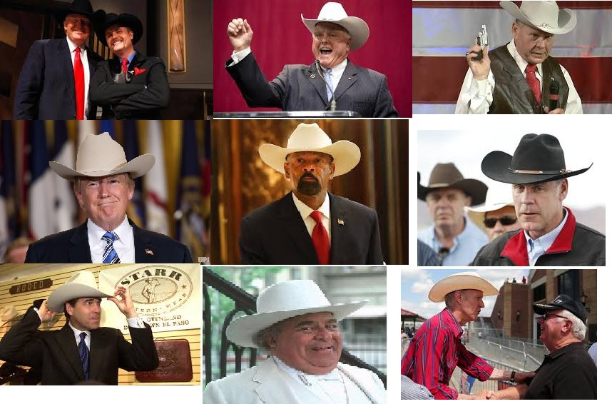 Don&#39;t you just love #GOP all making fun of a Democratic Congresswoman for wearing a cowboy hat?  Not hypocritical AT ALL. <br>http://pic.twitter.com/6ewvtPqmI3