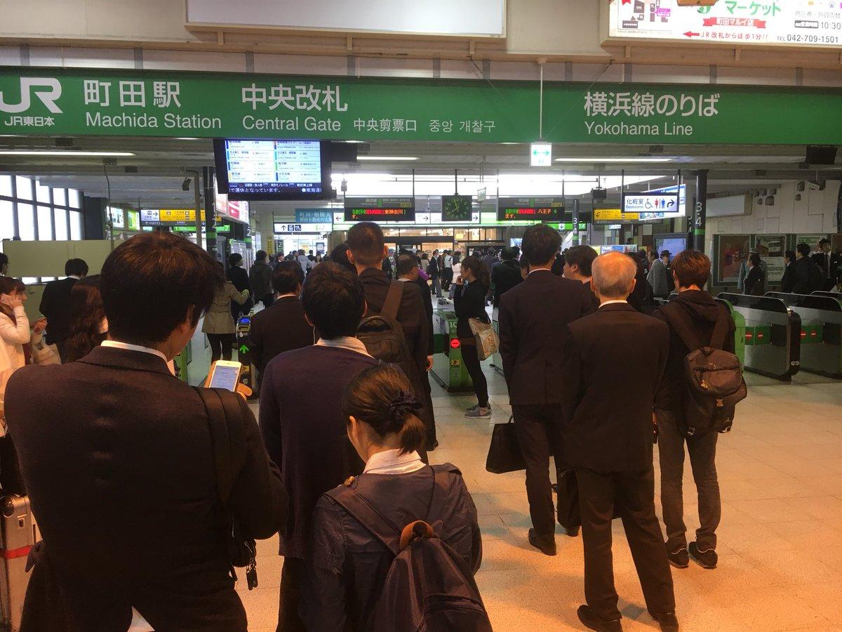 横浜 線 台風