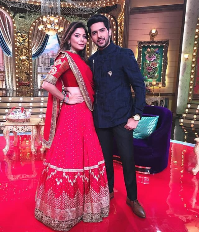 The Uber Talented @ArmaanMalik22 and @TheKanikakapoor strike a pose fo...