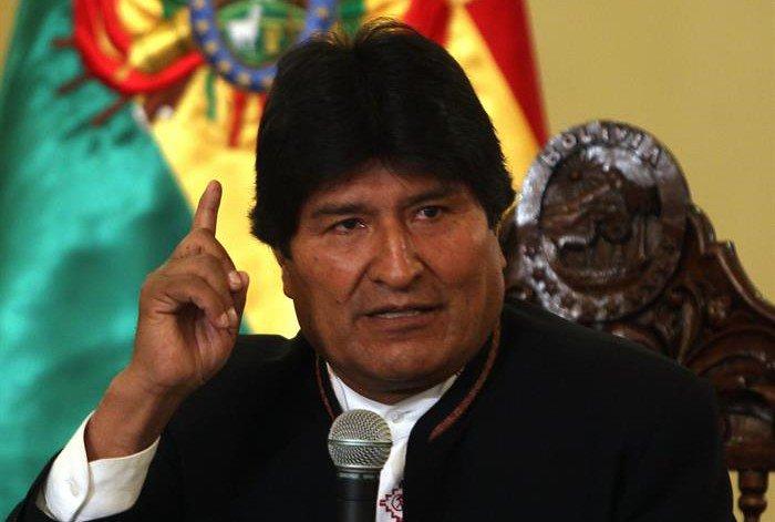 Evo Morales condenó injerencia de EEUU c...