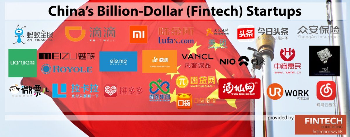 #China's Billion-Dollar (#Fintech) #Startups - #unicorn #VC #defstar5 #makeyourownlane #Mpgvip @BourseetTrading #digital #cloud #payments<br>http://pic.twitter.com/jI1DDaUPMu