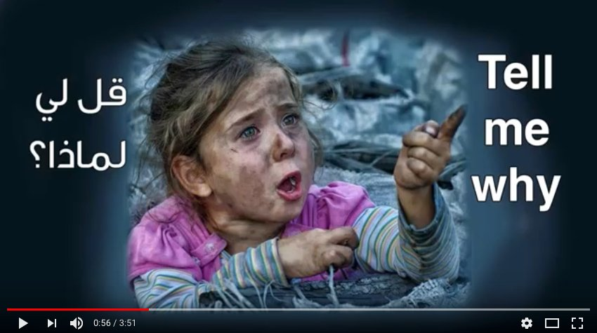 &quot; Tell me Why (Lyrics) - Children of #Syria  sonia waddah 2015/12/08  https://www. youtube.com/watch?v=uptz2_ Y0NZQ &nbsp; …  &quot;<br>http://pic.twitter.com/3XKLtHBr8U