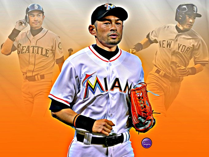 Happy 44th Birthday to 10x All-Star, 10x Gold Glover and my favorite baseball player of all time Ichiro Suzuki!
