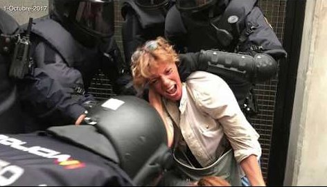 132 videos of Spanish police attacks against Catalan voters in the referendum of October 1, 2017 https://t.co/33WBOBIQv1