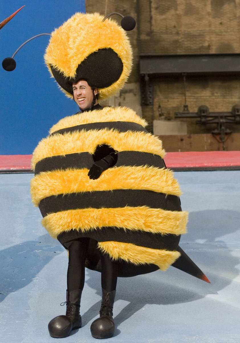Jerry Seinfeld in a bee suit; also that movie was so male centric  sc 1 st  Twitter & Lindsey Renken (@RenkenLindsey) | Twitter