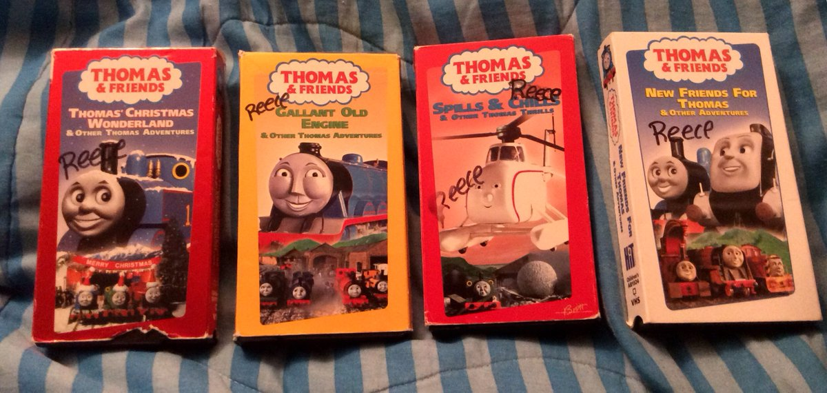 Thomas Christmas Wonderland Vhs.Wro On Twitter Question Of The Night What Thomas Dvd Or