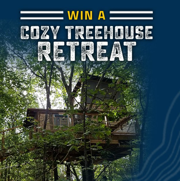 Enter to win a cozy treehouse retreat in #Oklahoma, complete w/ monster smoked baked potatoes &amp; a gift card  http:// bit.ly/CozyTreehouseR etreatOK &nbsp; … <br>http://pic.twitter.com/p9huqKjVpt
