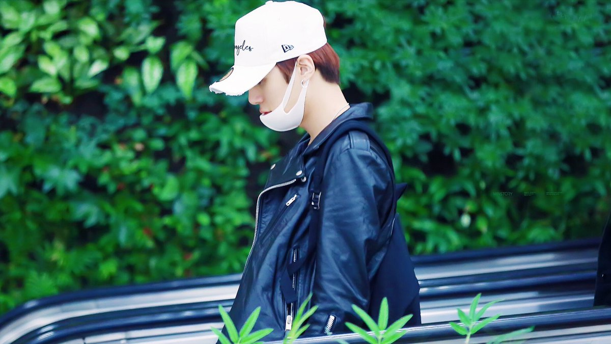 | leather jacket minhyuk, my fave minhyu...